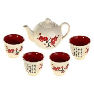 Набор для чайной церемонии «Красная сакура» купить в Минске +375447651009