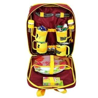 Набор для пикника на 4 персоны в сумке На привале купить