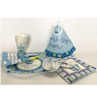 Набор для праздника «Party» голубой купить в Минске +375447651009