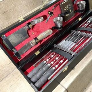 Набор для шашлыка в чемодане «Compact» 16 предметов Минск +375447651009