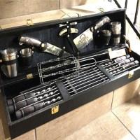 Набор для шашлыка и гриля в чемодане «Маэстро» 20 предметов Минск +375447651009