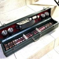 Набор для шашлыка в чемодане «Classic» 10 предметов зеленый Минск