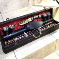 Набор для шашлыка в чемодане «Classic» 10 предметов черный Минск +375447651009