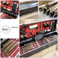 Набор для шашлыка в кожаном чемодане «Дикие звери» 18 предметов Минск +375447651009