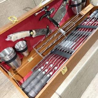 Набор для шашлыка в чемодане «Гриль-мастер» 20 предметов Минск +375447651009