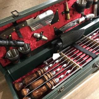Набор для шашлыка и гриля в чемодане «Консул» 18 предметов Минск +375447651009