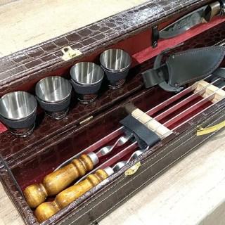 Набор для шашлыка в чемодане «Маэстро» 10 предметов Минск +375447651009