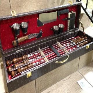 Набор для шашлыка в чемодане «Маэстро» 14 предметов №7 Минск +375447651009