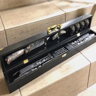 Набор для шашлыка в чемодане «Пикник» черный Минск +375447651009