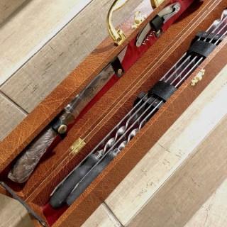 Набор для шашлыка в чемодане «Пикник» коричневый Минск +375447651009