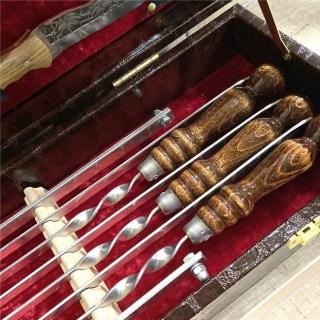 Набор для шашлыка в чемодане «Prestige» 17 предметов №6 Минск +375447651009