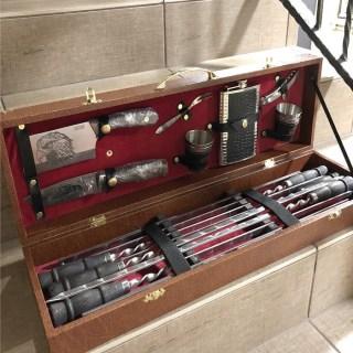 Набор для шашлыка в чемодане «Стиль» 16 предметов Минск +375447651009