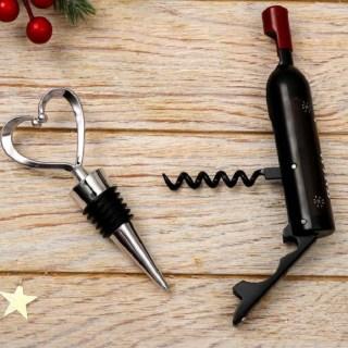 Набор для вина «Happy» 2 предмета купить в Минске +375447651009