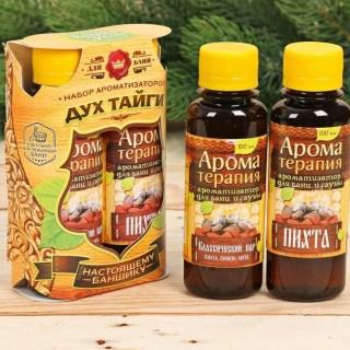 Набор эфирных масел для бани «Дух тайги» купить в Минске +375447651009