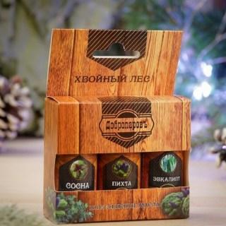 Набор эфирных масел для бани «Хвойный лес»  купить в Минске +375447651009
