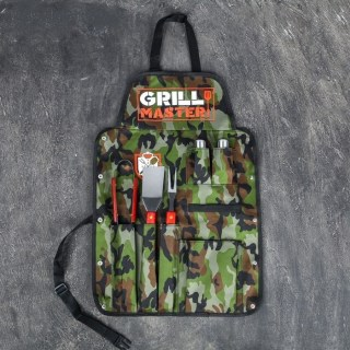 Набор-фартук для шашлыка и барбекю «Grill Master» камуфляж купить в Минске +375447651009