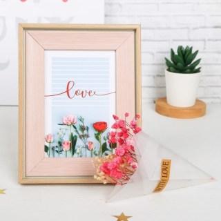 Набор:фоторамка-диплом с букетом «Любовь» купить в Минске +375447651009