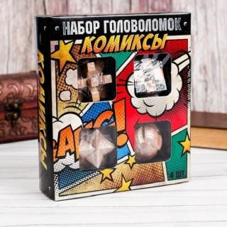 Набор головоломок «Комиксы» 4 штуки купить в Минске +375447651009