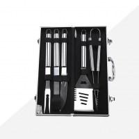 Набор инструментов для барбекю в чемодане 5 предметов купить Минск +375447651009