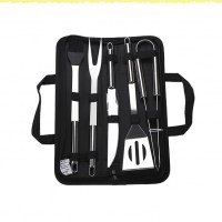 Набор инструментов для барбекю в сумке 5 предметов купить Минск +375447651009