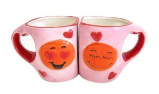 Набор кружек с ручками-сердцами «Для влюбленных» купить Минск