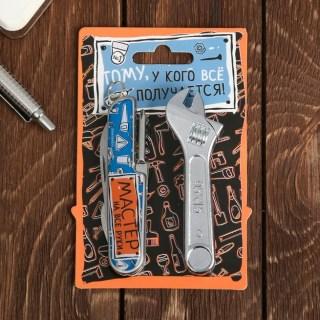 Набор «Мастер»: нож-мультитул, зажигалка купить в Минске +375447651009