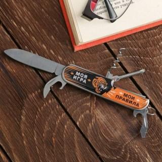 Набор «Реальный пацан»: нож-мультитул, зажигалка купить в Минске +375447651009