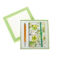 Набор:ручка+блокнот «Весна» в подарочной коробке купить в Минске +375447651009