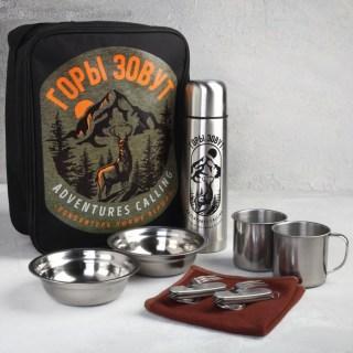 Набор в сумке для пикника «Горы зовут» на 2 персоны купить в Минске +375447651009