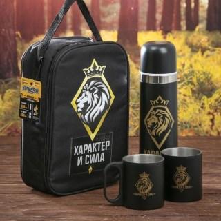 Набор в сумке для пикника «Характер и сила» на 2 персоны купить в Минске +375447651009