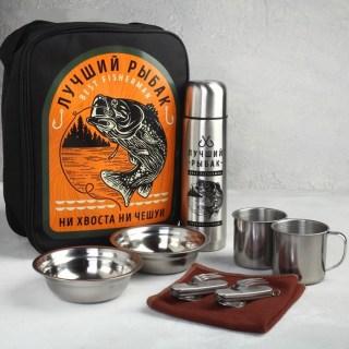 Набор в сумке для пикника «Лучший рыбак» на 2 персоны купить в Минске +375447651009