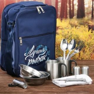 Набор-рюкзак для пикника «Лучший рыбак» на 2 персоны купить Минск +375447651009