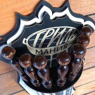 Набор шампуров на подставке «Гриль мания» 7 предметов Минск +375447651009