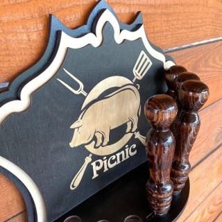 Набор шампуров на подставке «Picnic» 7 предметов Минск +375447651009