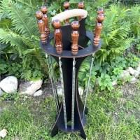 Набор шампуров на подставке «PROFI» 8 штук Минск +375447651009