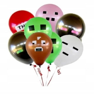 Набор шаров «Minecraft» 24 штуки купить в Минске +375447651009