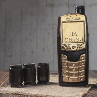 Набор штоф «Мобильный» 0,5 л. купить в Минске +375447651009