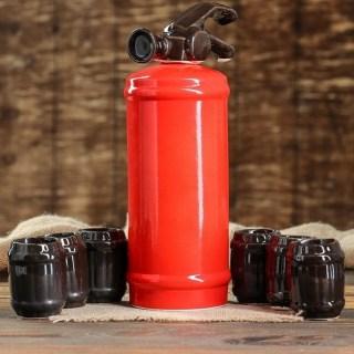 Набор штоф «Огнетушитель» 1,1 л. купить в Минске +375447651009