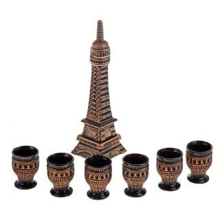 Набор штоф «Париж» с рюмками купить в Минске +375447651009