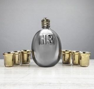 Набор-штоф с рюмками «НЗ» 1,5 л. купить в Минске +375447651009