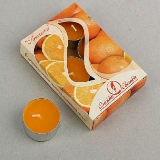Набор свечей «Апельсины» 6шт. купить в Минске +375447651009
