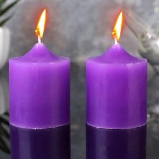 Набор свечей «Ароматы лета» лаванда 2 шт  купить в Минске +375447651009
