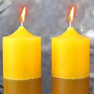 Набор свечей «Ароматы лета» лимон 2 шт  купить в Минске +375447651009