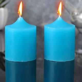Набор свечей «Ароматы лета» свежесть океана 2 шт  купить в Минске +375447651009