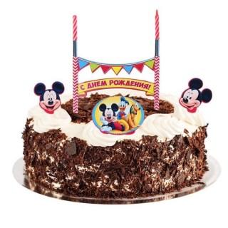Набор свечей «С Днем Рождения» Микки Маус Минск