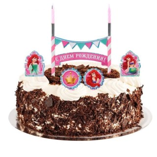 свечи в торт с днем рождения принцессы купить