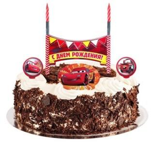 свечи в торт с днем рождения тачки купить