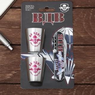 Набор «За ВДВ»: нож-мультитул, 2 стопки купить в Минске +375447651009