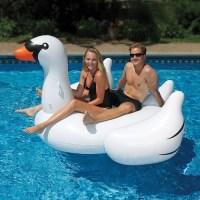 Надувной матрас Лебедь белый купить в Минске