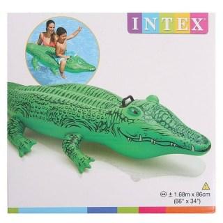 Надувной матрас для плавания «Крокодил» купить